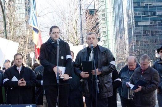 Pastorul Corneliu Ardelean – Mesaj la Protestul din Vancouver, British Columbia, Canada