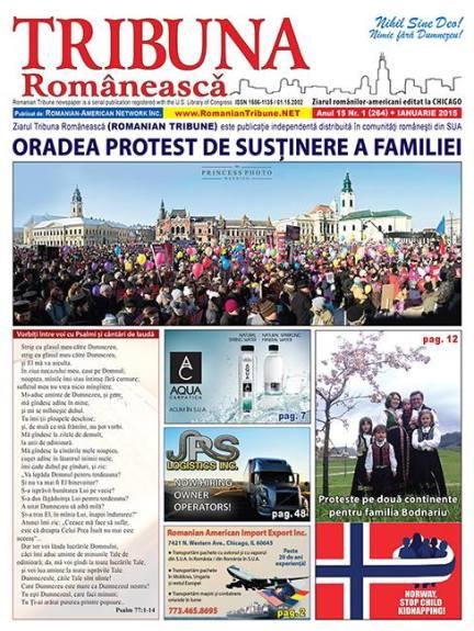 Ziarul Tribuna Românească Photo Steven Bonica