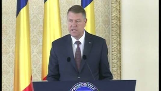 Klaus Iohannis Photo Realitatea TV