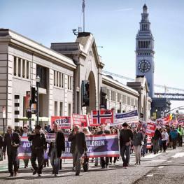 Protest San Francisco Photo Isaac Rebeca Moroshan