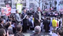 Cornel Avram Discurs Protest San Francisco 13 feb