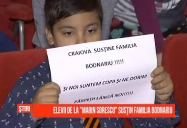 Craiova sustine familia Bodnariu