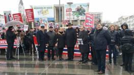 Mircea Lubanovici Protest Bacau 2