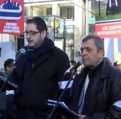 Pastorul Corneliu Ardelean ( tradus in engleza de pastor Flavius Jeler) - Mesaj la Protestul din Vancouver, B C, Canada