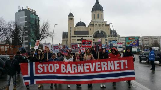 Protest Bacau, Photo Mircea Lubanovici