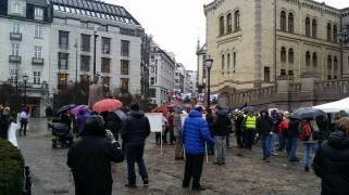 Protest Oslo, Norway 20 feb 2016 Lavinia Dumitrascu 1