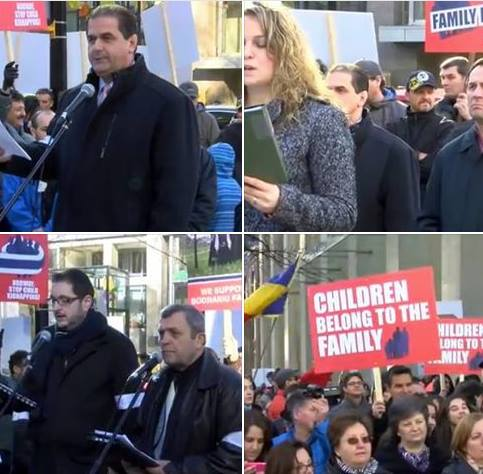 Protest Vancouver Speeches & Press Release Credo TV
