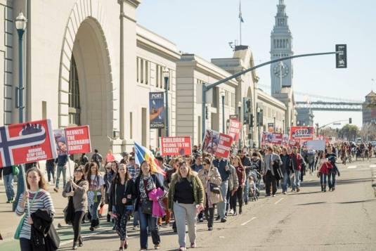 San Francisco Protest Photo Copyright Levy Moroshan