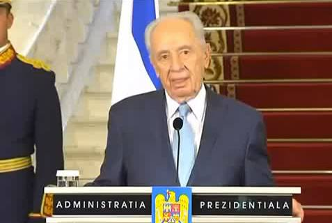 Shimon Peres in Romania