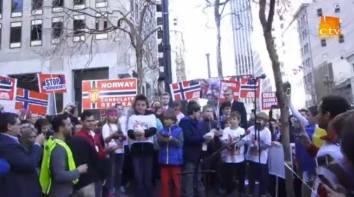 Slobozirea porumbeilor Protest San Francisco 1