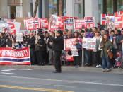 Steven Bonica Protest San Francisco