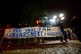 Stop Barnevernet Protestin Oslo, Norway