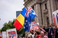 Tabor Romanian Pentecostal Church Melbourne Protest 1