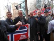 Vasile Cinpean, Beni Zagrean Protest San Francisco