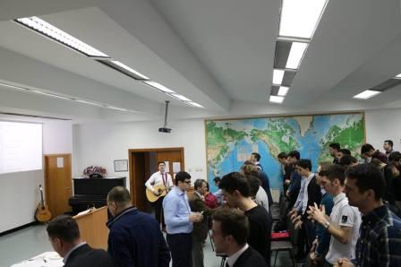 Prima serbare a Cinei Domnului din sem. 2 al anului universitar  2016