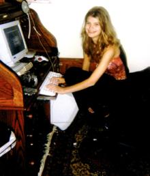 Alicia Kozakiewicz, la varsta de 13 ani