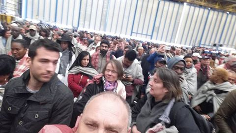 Cornel Urs Aeroportul din Bruxelles dupa atentatele din 22 martie.