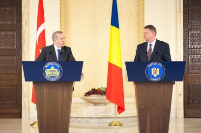 Klaus Iohannis si Recep Erdogan Foto: Presidency.ro