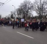 Marșul pentru Viață la Timișoara...în drum spre Catedrala Mitropolitană și Consiliul Județean Timiș...Photo Samy Tutac
