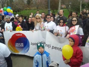 Marșul pentru Viață la București Foto Coaliţia pentru Familie