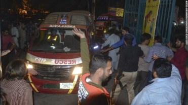 atentat Lahore