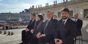 Mircea Lubanovici vizita in Italia