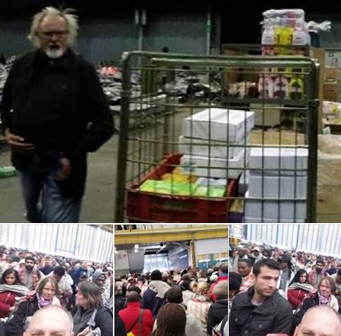 Cornel Urs Foto pe aeroport, minute dupa exploziile din Bruxelles