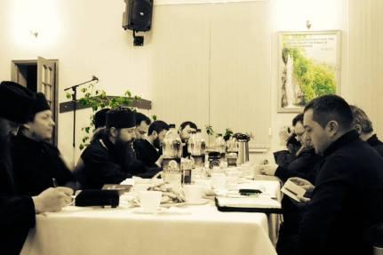 Daniel Cristian Florea in Republica Moldova dezbatere cu preoti ortodocsi 4