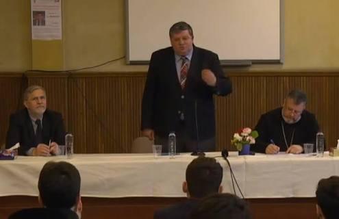 Dezbatere Facultatea de Teologie Ortodocsa (Otniel Bunaciu)