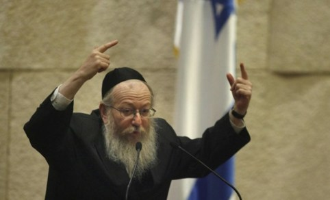 Ministrul sănătăţii Yaakov Litzmann Photo credit https://solidaritateeuropeana.wordpress.com