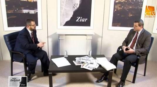 Marius Cruceru, Ghita Mocan Intre Scriptura si Ziar Credo TV