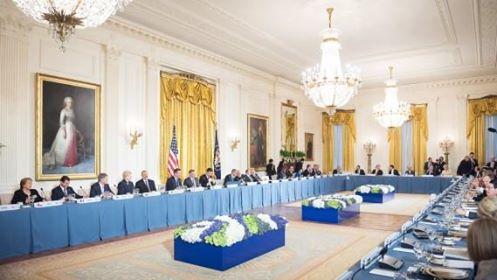 Foto www.caleaeuropeana.ro Summitul Securității Nucleare 31 martie 2016 Presedintele Iohannis,