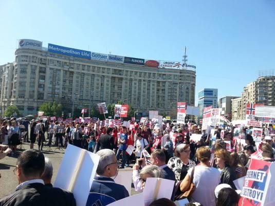 Protest Bucuresti Aprilie 16