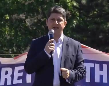 Titus Corlatean Protest Aprilie 16 Bucuresti