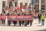 Familia Bodnariu Protest laChicago