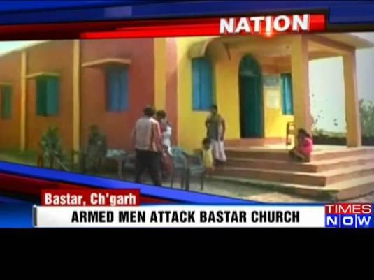 Pastor si sotia batuti biserica atacata