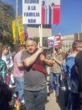 Protest la Barcelona Familia NAN Aprilie 16