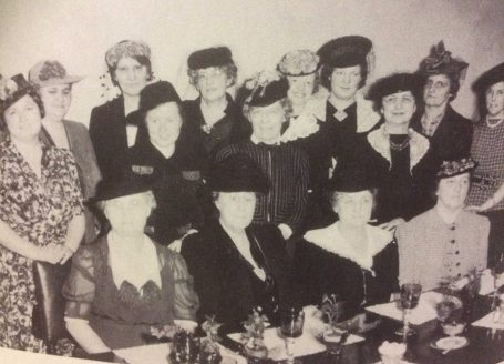 The 1941 Married Women's Guild provided fellowship and study courses to over 30 women. Photo Moody Bible Institute