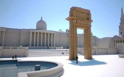 Reconstructia templului lui Baal in Londra