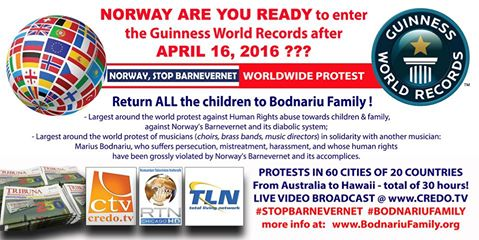 NORWAY ARE YOU READY to enter the Guinness World Records after April 16, 20155???