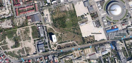 Zona bd. Expozitiei vazuta din satelit Foto Hotnews.ro