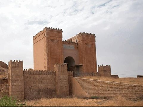 The Mishqi Gate seen guarding the ancient city of Nineveh Foto independent.co.uk