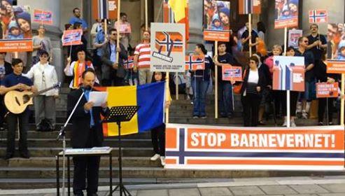 Adelaide, AUSTRALIA Against Barnevernet - Daniel Popa's Speech 16:04:16