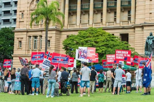 Brisbane, Australia Protest