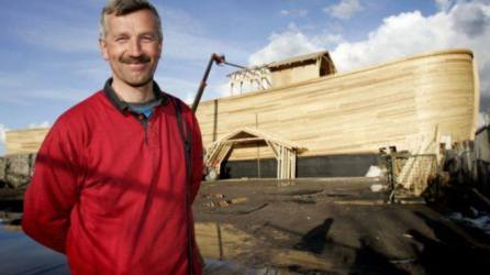 Carenter who built Noah's Ark replica in Netherlands