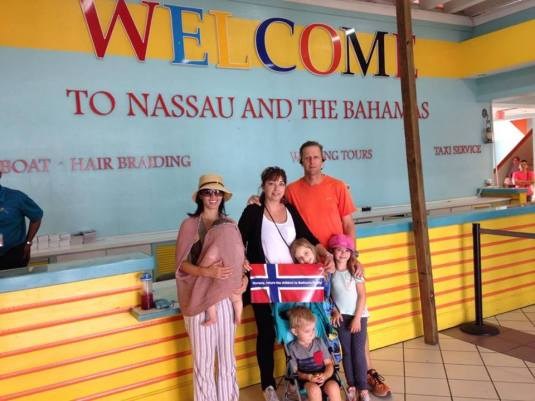 Nassau-Bahamas together with Bodnariu family