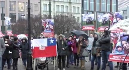 Protest OSLO Norway