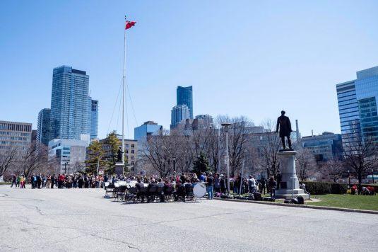 Protest Toronto april 16 2016