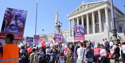 Protest Vienna Austria