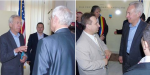 Viorel Iuga & Ionel Tutac intalnire cu ambasadorul SUA Hans Klemm Aprilie2016